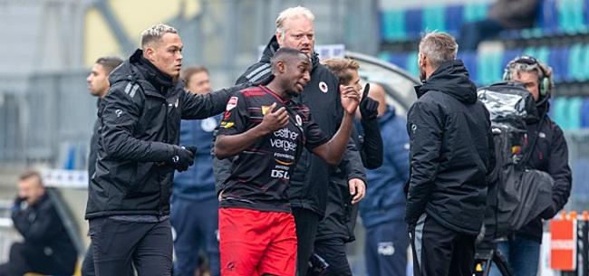 Foto: Ahmad Mendes Moreira reageert op racistische geluiden in Den Bosch