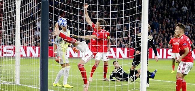 Foto: Mazraoui schiet Ajax naar tweede Champions League-zege