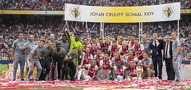 Foto: 'Johan Cruijff Schaal moet flinke make-over krijgen'