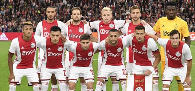 Foto: Vermoedelijke opstelling Ajax tegen Lille: Ten Hag wijzigt op 2 posities