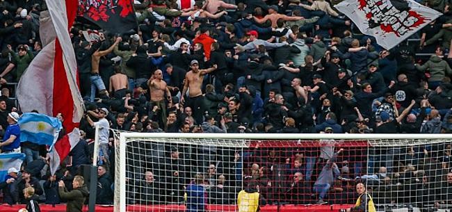 Foto: 'Italiaanse autoriteiten pakken Ajax-fans keihard aan'