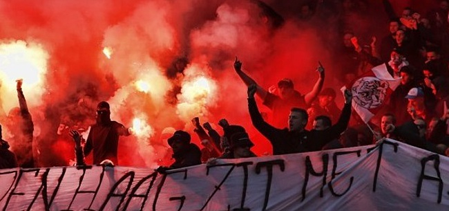 Foto: KNVB legt boetes op: ook Ajax-fans gaan in de fout