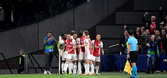 Foto: Ajax begint nieuw Champions League-seizoen ijzersterk met ruime zege op Lille