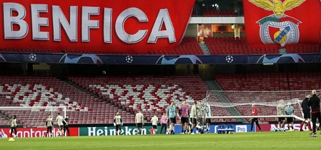 Foto: Ajax-fans in Lissabon na serieuze waarschuwing: