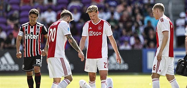 Foto: Ajax-fans vrezen het ergste: 'Kap er maar mee!'
