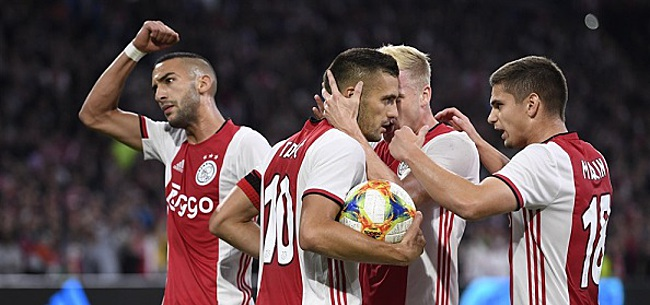 Foto: Ajax-fans zijn probeersel zat: