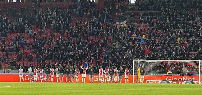 Foto: Supportersvereniging Ajax haalt uit naar KNVB: