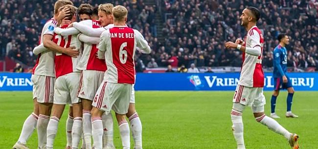 Foto: 'Ajax creëert enorme kloof met PSV en Feyenoord'