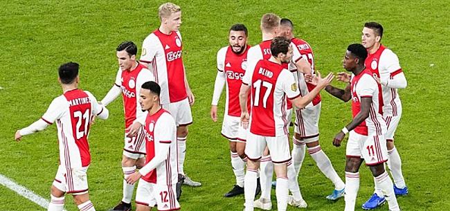 Foto: 'Bijzonder 'probleem' dient zich aan voor Ajax-fans'