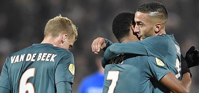Foto: 'Ten Hag vult Ajax-aanval heel anders in door blessure Neres'