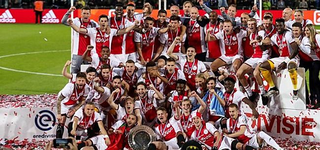 Foto: Ajax krijgt voortreffelijk nieuws over Champions League