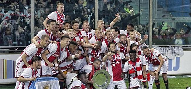 Foto: Ajax op rapport: De Ligt grote ster in uniek seizoen