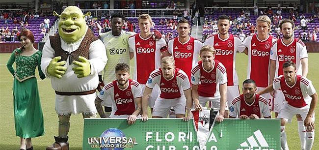 Foto: Ajax-fans fileren eigen speler: