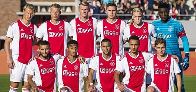 Foto: Ajax komt oude bekende tegen in opvallend oefenduel