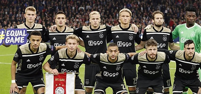 Foto: Kijkers Ajax-Benfica fileren één man: