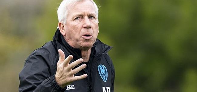 Foto: Pardew op zijn hoede: 'De spelers veranderen niet'