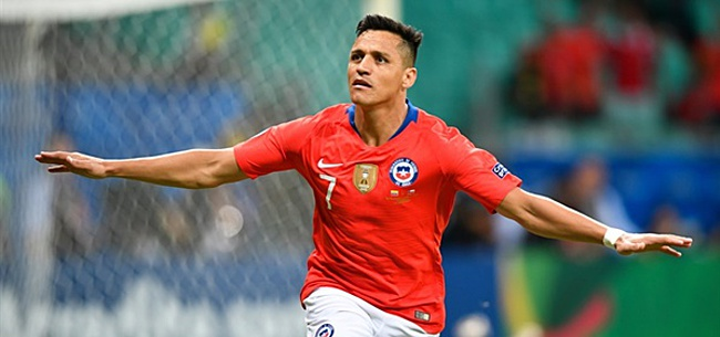 Foto: Alexis scoort weer, Chili wint ook van Ecuador