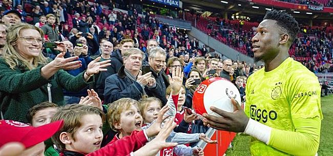 Foto: 'Ajacied Onana heeft al voorkeur voor nieuwe club'