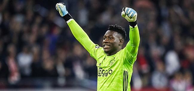 Foto: Onana: 'Dat doe ik elke dag om die redding bij Ajax te kunnen maken'
