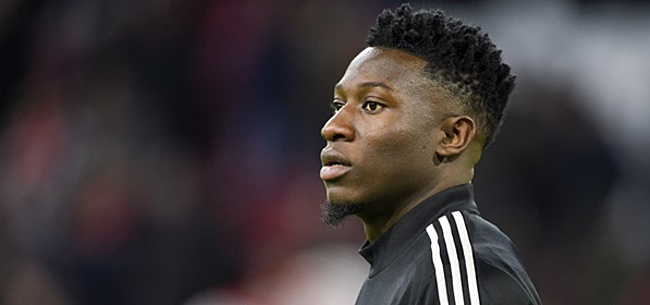 Foto: Onana over transfer: 'Ga iedereen missen'