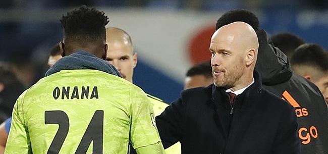 Foto: 'Ten Hag geeft zeer duidelijk signaal af aan Ajax-leiding'