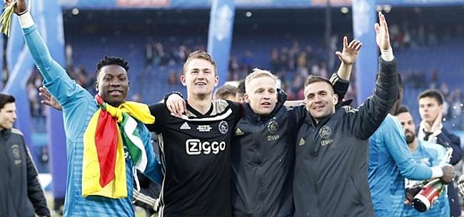 Foto: 'Deze 10 spelers kunnen Ajax in de zomer nog verlaten'
