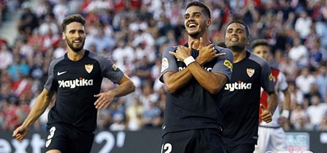 Foto: Silva maakt indruk bij Sevilla: