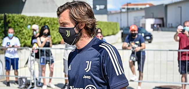 Foto: Pirlo na Juventus-debuut: