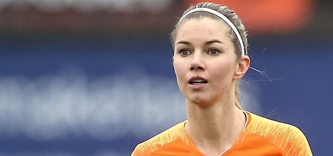 Foto: Erkenning voor vrouwenvoetbal: