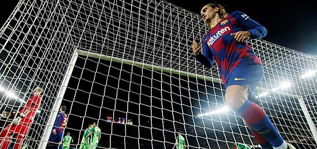 Foto: Barcelona dankzij vijfklapper naar laatste acht Copa del Rey
