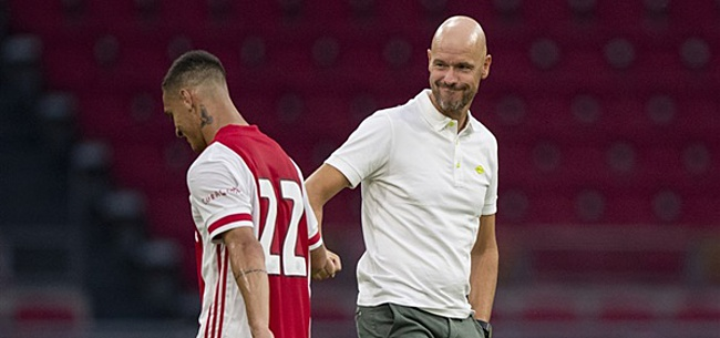 Foto: 'Ten Hag verrast met nieuwe basisopstelling Ajax'