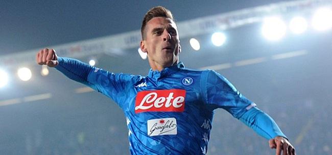Foto: VIDEO: Oud-Ajacied Milik opent de score voor SSC Napoli