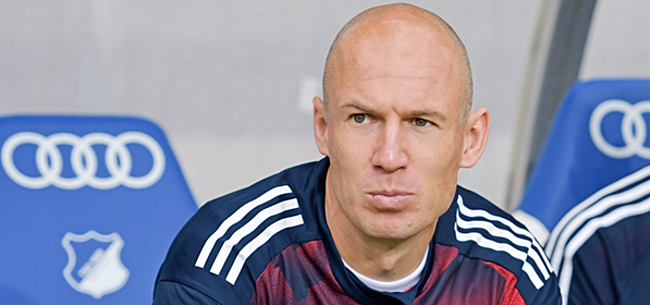 Foto: Robben ziedend om 'onzinquotes' over Ancelotti