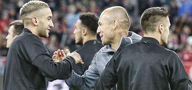 Foto: Robben over Frenkie de Jong: 'Slimme jongen'