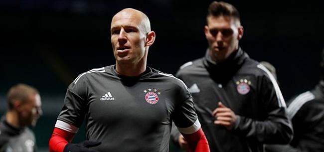 Foto: Robben baalt van transfergeruchten: 'We kennen elkaar al heel lang'