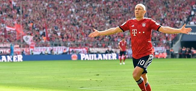 Foto: Robben: 'Zonder hem was alles anders geweest'