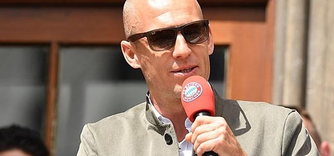 Foto: Robben pakt nieuwe sportkans aan: