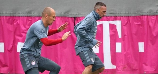 Foto: Sensationeel: 'Robben en Ribéry kunnen naar dezelfde club transfereren'