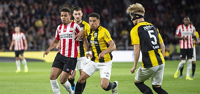 Foto: Obispo in de fout tegen PSV: