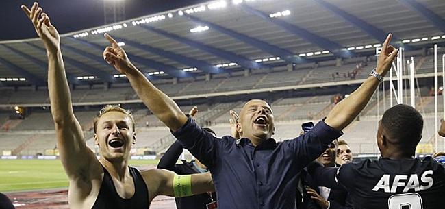 Foto: AZ in de ban van United: 'Daar hoop je dan op'