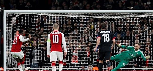 Foto: Arsenal elimineert Milan, exit voor Lyon en Dortmund