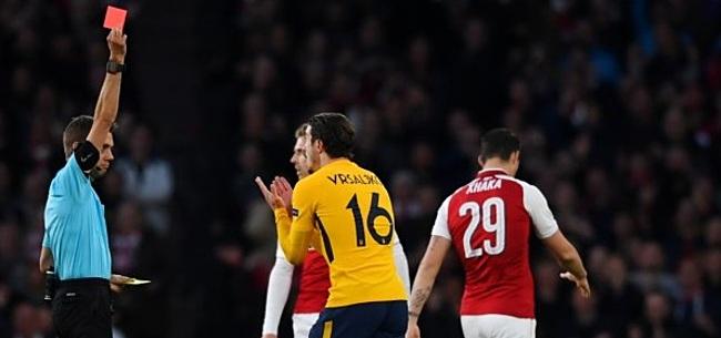 Foto: Arsenal schenkt tiental Atlético mooie uitgangspositie