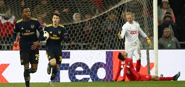 Foto: Arsenal ontsnapt en helpt Eintracht, Vilhena klaar in Europa