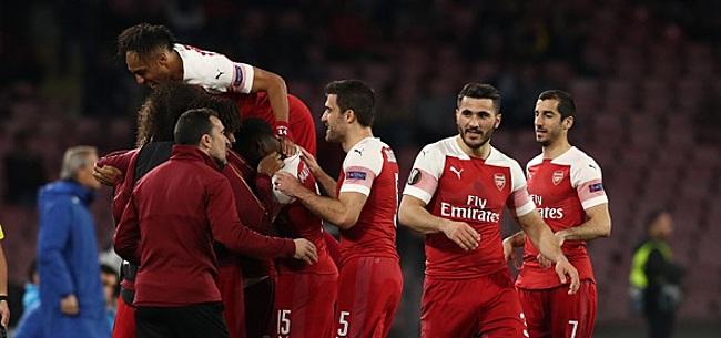 Foto: Arsenal en Chelsea naar halve finales, Frankfurt verrast Benfica