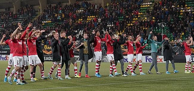 Foto: AZ met vertrouwen naar PSV: