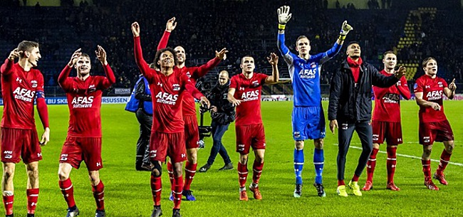 Foto: AZ reageert op vermeende ruzie met Ajax