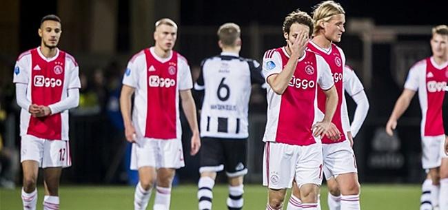 Foto: 'Ajax-spelers vinden dat ploeggenoot over the hill is'