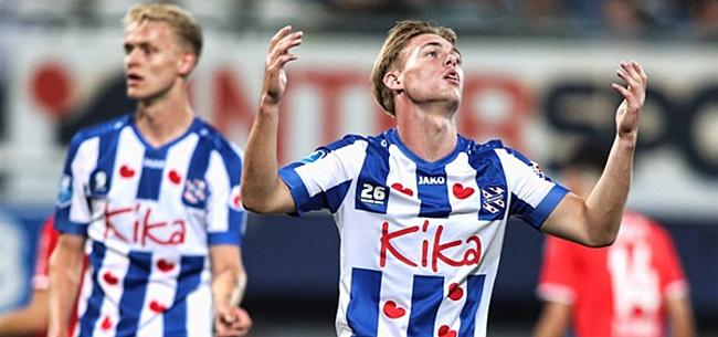 Foto: Heerenveen loopt opnieuw averij op: gelijkspel tegen Twente