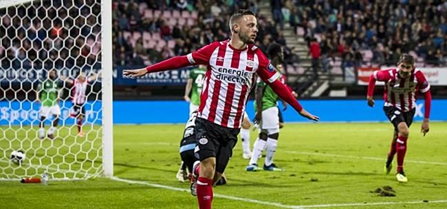 Foto: 'Dolend NAC Breda informeert bij PSV en Vitesse'