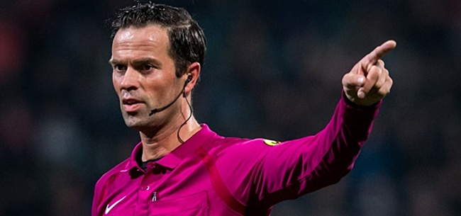 Foto: Scheidsrechtersbaas snapt PSV-kritiek op Nijhuis niet